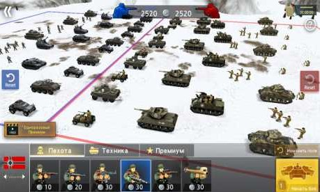 WW2 Battle Front Simulator 1.6.2 Apk + Mod (Unlocked all units) for android