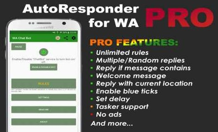 AutoResponder for WA Pro 9.97 Apk for android